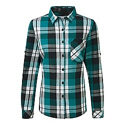 Tog 24 - Teal check rowena flannel shirt