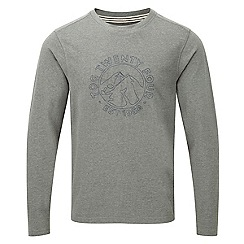 Tog 24 - Dark grey marl royce long sleeve t-shirt