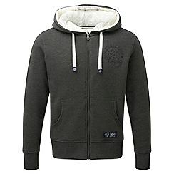 Tog 24 - Dark grey marl salcombe tcz sherpa hoodie