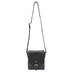 Tog 24 - Black salisbury leather shoulder bag
