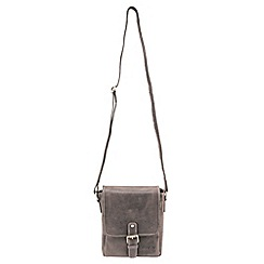 Tog 24 - Brown salisbury leather shoulder bag