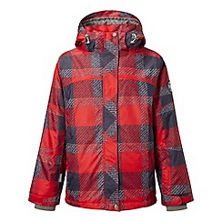 Tog 24 - Red check scoot milatex jacket