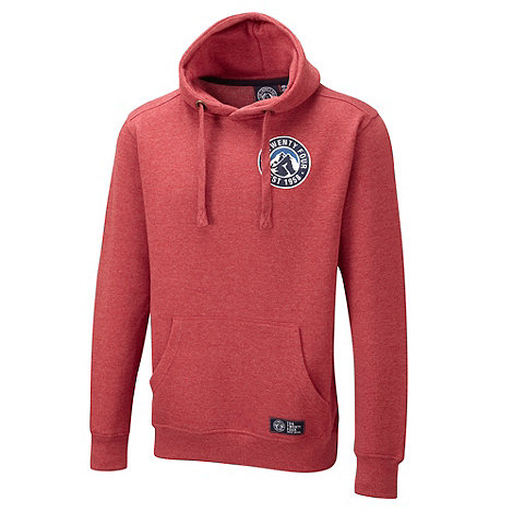 Tog 24 - Rust red marl stamp shine hoody