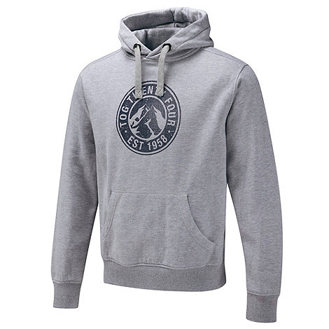 Tog 24 - Grey Marl Stamp Shine Hoody