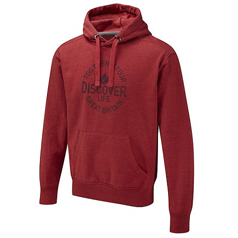 Tog 24 - Chilli Red Disc Shine Hoody