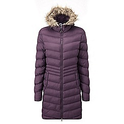 Tog 24 - Dark plum silesia tcz down look jacket