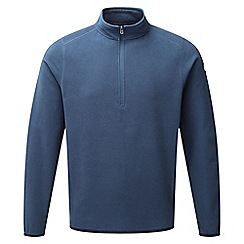 Tog 24 - French navy sixa tcz 100 fleece zip neck