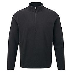 Tog 24 - Black sixa tcz 100 fleece zip neck