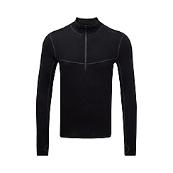 Tog 24 - Black smart tcz merino zip neck