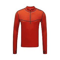 Tog 24 - Orange smart tcz merino zip neck