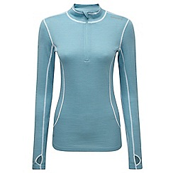 Tog 24 - Ice blue smart tcz merino zip neck