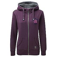 Tog 24 - Dark plum sophie deluxe hoodie 58