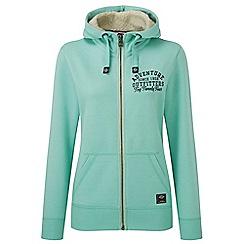 Tog 24 - Spearmint marl sophie luxe zip hoodie adventure print