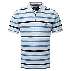 Tog 24 - White space stripe polo shirt