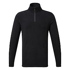 Tog 24 - Black spen TCZ 100 zip neck fleece