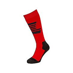 Tog 24 - Black/fire/grey staffler merino ski sock 3 pack