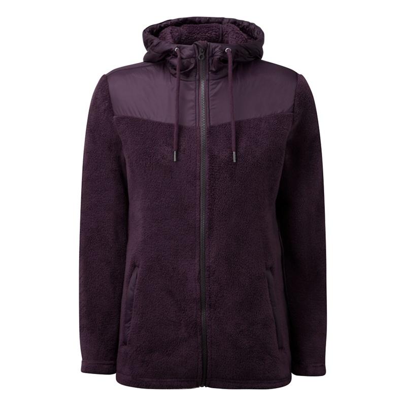 Tog 24 Dark Plum Theia Tcz 300 High Loft Fleece Jacket,