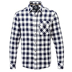 Tog 24 - Dark midnight check timber tcz cotton shirt