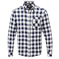 Tog 24 - Dark midnight check timber tcz cotton shirt