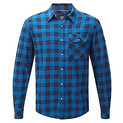 Tog 24 - New blue check timber tcz cotton shirt