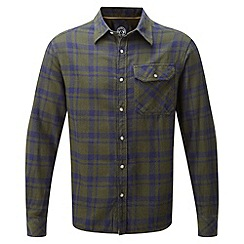 Tog 24 - Dark green check timber tcz cotton shirt