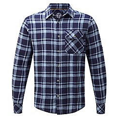 Tog 24 - Dusk check timber tcz cotton shirt
