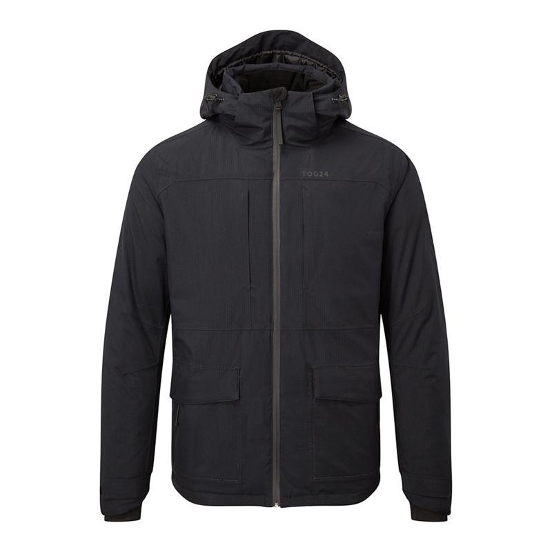 Tog 24 Black tor waterproof down insulated jacket