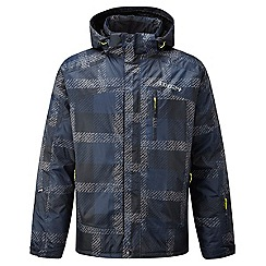 Tog 24 - Mood blue check trident milatex jacket