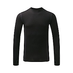 Tog 24 - Black ultra merino thermal crew neck