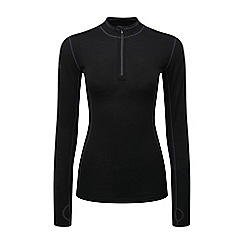 Tog 24 - Black ultra merino thermal zip neck