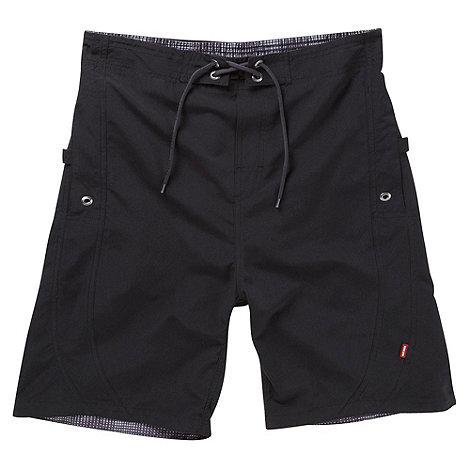 Tog 24 - Black Ventura Swim Shorts Long Fit