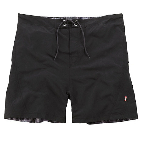 Tog 24 - Black Ventura Swim Shorts Short Fit