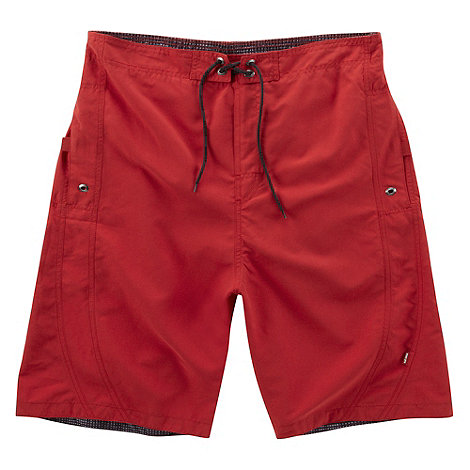 Tog 24 - Chilli Red Ventura Swim Shorts Long Fit