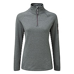 Tog 24 - Dark grey marl vita tcz stretch zip neck