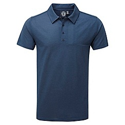 Tog 24 - French navy stripe volta dri release polo shirt
