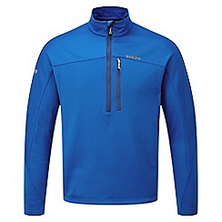 Tog 24 - New blue vote tcz stretch zip neck