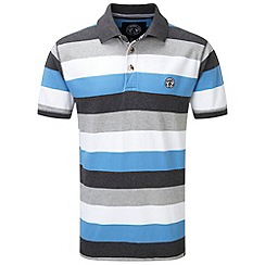 Tog 24 - Blue haze wells stripe polo shirt