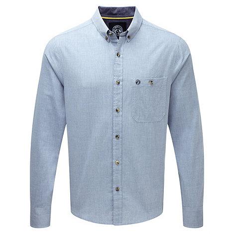Light blue wharfe long sleeve shirt