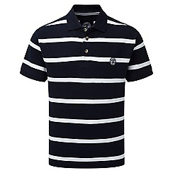 Tog 24 - Dark midnight wilson stripe polo shirt
