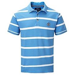 Tog 24 - Blue haze wilson stripe polo shirt