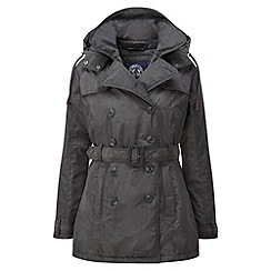 Tog 24 - Black marl winter mac milatex jacket