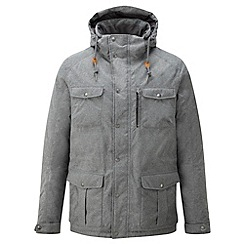 Tog 24 - Grey melange wolf milatex/down parka jacket