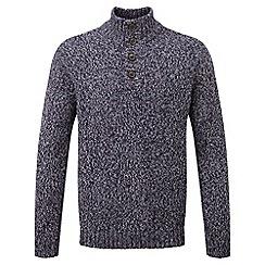 Tog 24 - Plum zak knit button neck