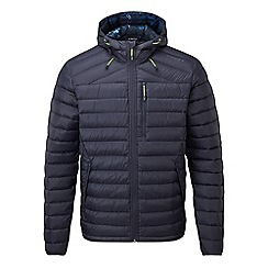 Tog 24 - Navy zenon down hooded jacket