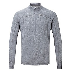 Tog 24 - New blue marl zephyr tcz tech zip neck