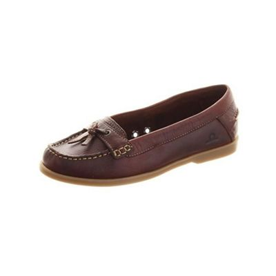 Chatham Brown atlantis boat shoes - . -