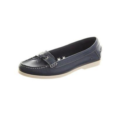Chatham Navy atlantis boat shoes - . -