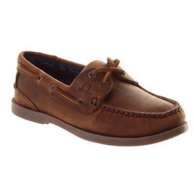 Chatham Deck lady boat shoes - . -