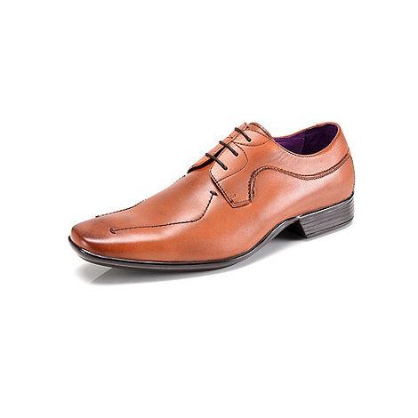 Azor - Tan newton fashion lace shoes