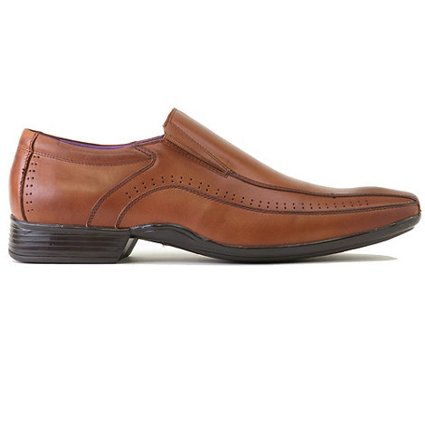 Azor - Tan lewis casual loafer shoes